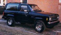 1988 Ford Bronco II - Whenever I talk about it I leave off the II, but it sure was fun to drive!