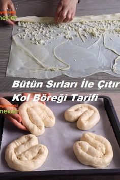 Pastry Recipes, Cooking Recipes, Pastry Art, Bread And Pastries, Pesto Pasta, Turkish Recipes, Baking And Pastry, Baked Goods, Bakery
