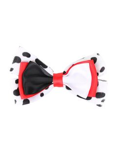 Disney 101 Dalmatians Cruella De Vil Cosplay Bow | Hot Topic