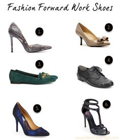 Tuesday Shoesday: Fashion Forward Shoes for the Office