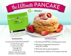 A great way to start your day with Ultimate ProFit advanced Superfood nutrition. kaciegaston@gmail.com doitforyou.myitworks.com