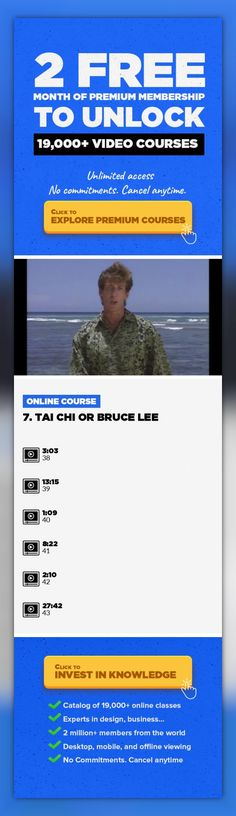 """7. Tai Chi or Bruce Lee Health & Wellness, Lifestyle, Martial Arts, Motivation, Health, Meditation, Wellness, Tai Chi #onlinecourses #onlinelessonslearning #onlineprogramscomputerscience   This is a course in Tai Chi for the Tai Chi Curious - a fun and entertaining way to learn the 24 movement Yang style """"Short Form."""" It originally aired as a 13-part series for Hawaii Public Television. Filmed on ..."""