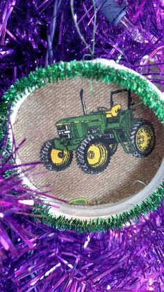 Check out this item in my Etsy shop https://www.etsy.com/listing/486557280/john-deere-ornament-christmas-tree