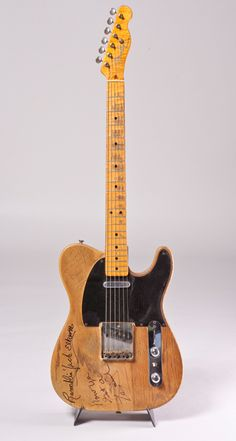 Albert Lee's 53 Tele. #guitars #albertlee #fendertelecaster http://www.pinterest.com/TheHitman14/music-instruments/