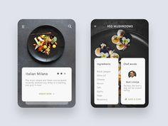 app designed by Prakhar Neel Sharma. Connect with them on Dribbble; Web Design, App Ui Design, Mobile App Design, User Interface Design, Flat Design, Graphic Design, Application Mobile, Application Design, App Design Inspiration