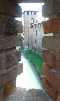 Ponte di Castelvecchio/ Ponte Scaligero , Verona, Luglio 2016