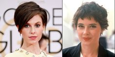 Elettra Wiedemann and Isabella Rossellini. Learn more about them and 25 other gorgeous celebrity mother-daughter pairs. Diane Lane Daughter, Short Hair Cuts, Short Hair Styles, Ava Phillippe, Very Short Haircuts, Celebrity Kids, Celebrity Style, Latest Instagram, Celebs