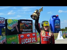 ▶ Courtney Force clinches the win in Dallas | NHRA - YouTube