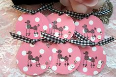 poodle tags, for christmas gifts?