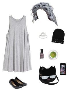 """""""Untitled #5383"""" by northamster ❤ liked on Polyvore featuring H&M, Eternally Haute and Accessorize"""
