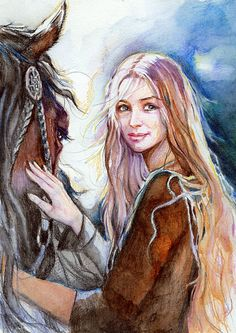 Stunning Eowyn artwork.