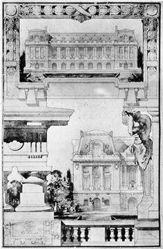 """analytique """"a pavilion in a public place"""""""