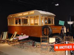 1st RV in the National Route 66 Museum, Elk City, OK