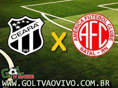 Assistir Ceará x América-RN ao vivo 16h00 Campeonato Brasileiro Série B