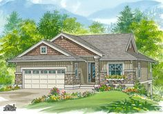 House Plans - Thornhill (1-3-622) - Linwood Custom Homes