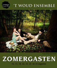 Niets moet, alles kan. Luieren zonder schuldgevoel. De voorstelling Zomergasten van `t Woud Ensemble is op verschillende data in augustus te zien bij Museum Schokland.Voor meer informatie zie www.schokland.nl