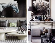 Jay Jeffers | Interior Design | http://www.ispybyblye.com/entertain-in-style-with-jay-jeffers-for-arteriors/