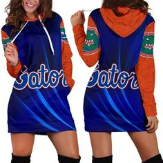 Florida Gators Woman Hoodie Dress Florida Gators Hoodie, Hoodie Dress, Size Chart, Just For You, Rectangle Area, Hoodies, Rug, Color, Woman
