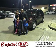 Congratulations to Megan Bravo on your #Kia #Sorento purchase from Robert Bills at Capitol Kia! #NewCar