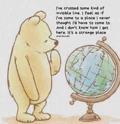 Winnie the Pooh quotes Winnie The Pooh Quotes, Winnie The Pooh Friends, Cute Quotes, Great Quotes, Disney List, Pooh Bear, Number Two, Sweet Memories, Inspiring Quotes About Life