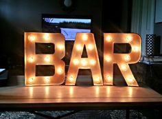 74 best light up bar and glow drink images on pinterest glow party 12 plug in bar light up marquee sign aloadofball Image collections