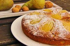 V kuchyni vždy otevřeno ...: Hruškový koláč s ořechy