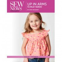 Kid's Up in Arms Blouse Digital Pattern Sewing Hacks, Sewing Tutorials, Sewing Tips, Serger Sewing, Sewing Ideas, Sewing Patterns Free, Free Sewing, Sewing Machine Basics, Kids Up