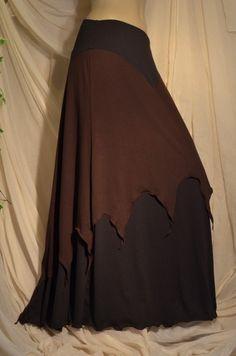 Alternative Clothing - Wandering Willow Skirt - Skirts - Faery - Alienskin Clothing: Hand made