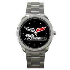 Chevrolet Camaro 35th Anniversary Emblem Sport Metal Watch | zarkop - Jewelry on ArtFire