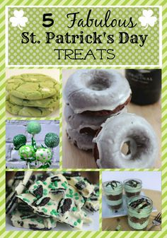 St Patricks Day Treats | http://just2sisters.com/st-patricks-day-treats/