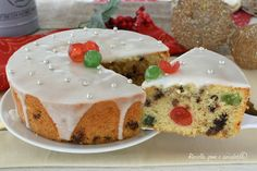 TORTA della NOTTE di NATALE Ricotta, Allrecipes, Christmas Time, Panna Cotta, Food And Drink, Pudding, Sweets, Breakfast, Ethnic Recipes