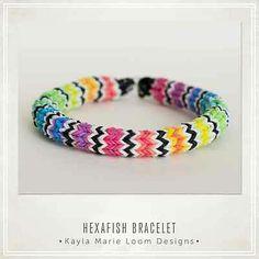 Rainbow Loom Hexafish Bracelet Party Favors | eBay
