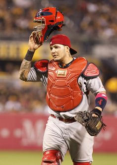The best catcher in the MLB 2015! Molina #4