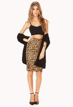 FOREVER 21 Spot-On Pencil Skirt on shopstyle.com