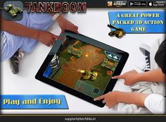Tank gameplay of Boom is quite simple, you just need to control the tank by pressing the left navigation screen, touch the screen to shoot enemies in the appropriate direction.  https://play.google.com/store/apps/details?id=com.techbla.tankboomfree