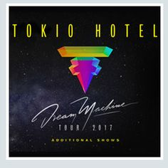 2017- TOKYO HOTEL, Nov. 9 Padova; Nov. 10 Napoli; Nov. 12 Venaria Reale; Nov. 13 Bologna; tickets are available in Vicenza at Media World, Palladio Shopping Center, or online at www.ticketone.it and www.geticket.it.