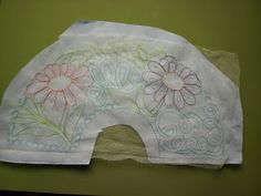 Tulle, Embroidery, Stitches, Scrappy Quilts, Hand Embroidery, Painted Fan, Hearts Of Palms, Hand Fans, Nativity Scenes
