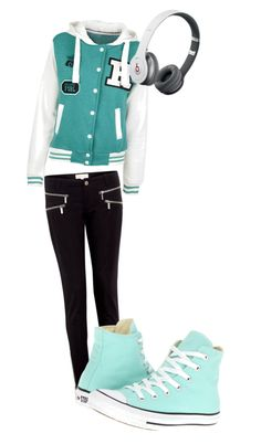 """Teal and Black"" by simoneraina on Polyvore"