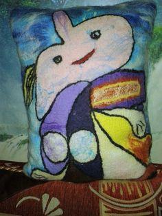 ПОДУШКА ДЕКОРАТИВНАЯ По мотивам картины Пабло Пикассо «МАРИЯ — ТЕРЕЗА» — РукоделЬе