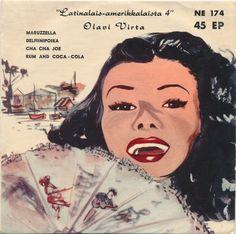 Olavi Virta - Latinalais-Amerikkalaista 4 (1958, Vinyl)   Discogs Pet Dogs, Pets, Coca Cola, Rum, 1950s, Movie Posters, Image, Coke