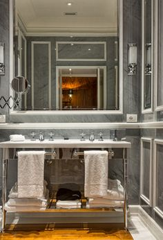 Hotel bathroom JK Place Capri by Michele Bonan