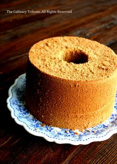 Irish coffee chiffon cake