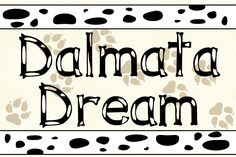 Download this free font here: http://www.dafont.com/it/dalmata-dream.font
