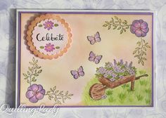 Quilling Lady: Let's celebrate with flowers and butterflies