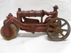 ~ Fordson Road Roller Tractor  - 1930's  AC Williams or Dent Cast Iron Toy