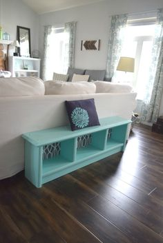 bench redo, Spring home tour with simple ideas, crafts, DIY projects. All with bold colors and a coastal/rustic look to the home.