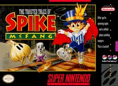 The Twisted Tales of Spike McFang, is an action role-playing video game which was released for the Super Nintendo Entertainment System, developed by Bullet Proof Software and Red Company, and published by Naxat Soft. Released in 1993