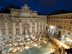 Fountain of Trevi (or Trevi Fountain)