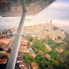 In volo sull'Umbria #trevi #umbria