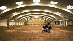 An arched ceiling and plenty of light makes The Roosevelt ballroom a beautiful place to host a reception.